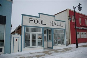 Pool Hall and Barbershop